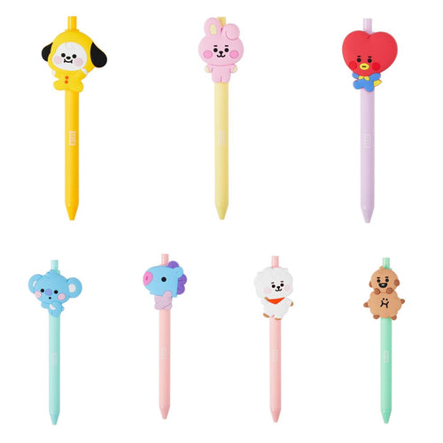 [LINE X BT21] Gel Pen Baby Version Set (7pcs)