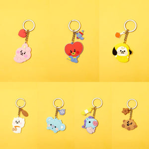 [LINE X BT21] Baby Silicone Keyring
