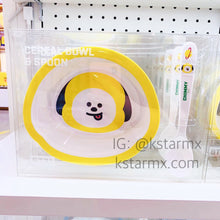 [LINE X BT21] Cereal Bowl + Spoon Set