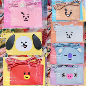 [LINE X BT21] Strap Card Case