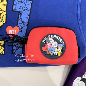 [LINE X BT21] Card Wallet Heart Version