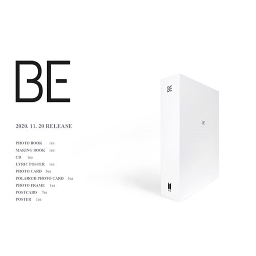 BTS - BE Deluxe Edition (Limited Edition + FREE EXPRESS Shipping)