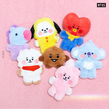 [LINE X BT21] Official BABY Flat Fur Series Standing Doll