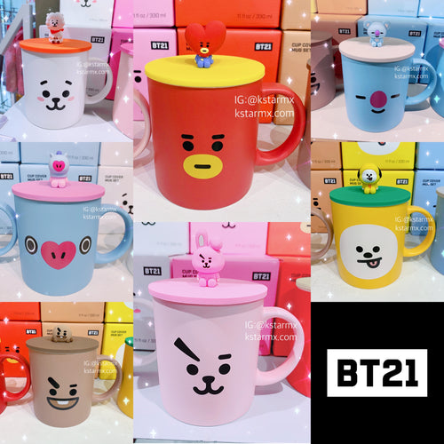 [LINE X BT21] Mug with Lid