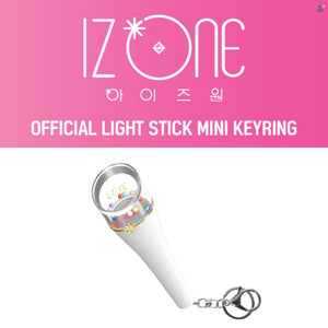IZ*ONE / IZONE  Official Mini Light Stick Keyring