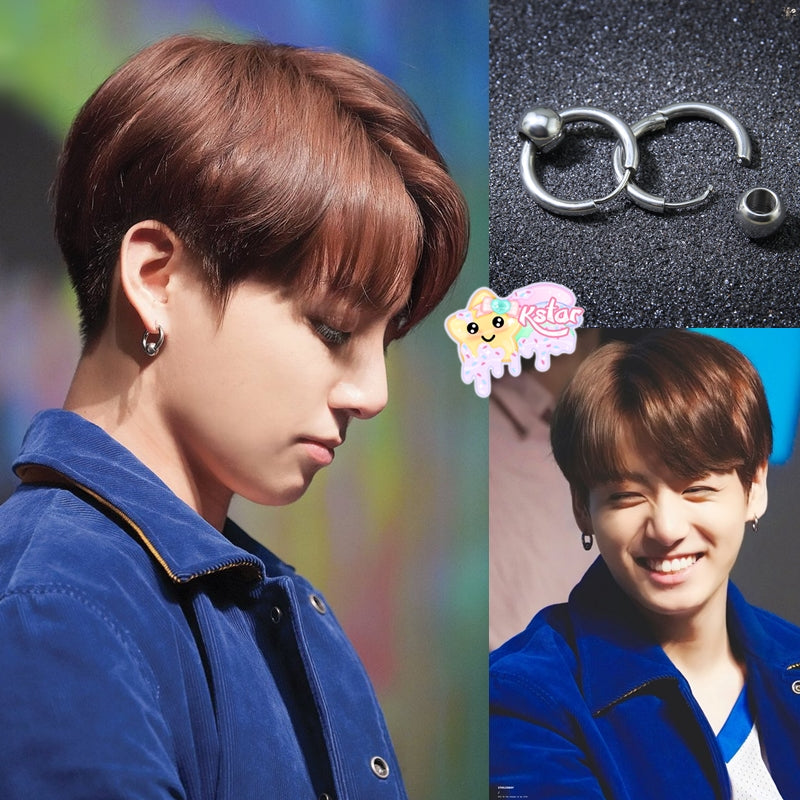 Jungkook's Style Hoop Earrings