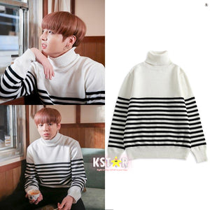 Jungkook's Style Spring Day Sweater