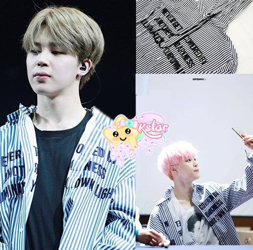 Jimin's Style Illuminate Your Own Light Shirt