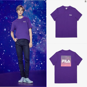 [FILA X BTS] Regular Fit Box Logo Tee