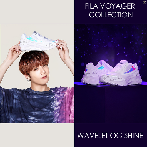 [FILA X BTS] Voyager Collection WAVELET OG SHINE Sneakers