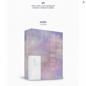 BTS World Tour LOVE YOURSELF in NEW YORK DVD (Free Shipping)