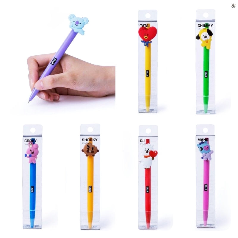 [LINE x BTS] BT21 Gel Pen Ver.2 (Free Shipping)