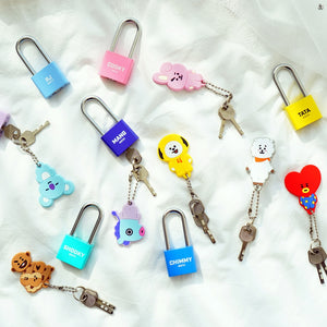 [LINE X BT21] Silicone Padlock