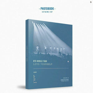 BTS World Tour LOVE YOURSELF in EUROPE DVD (Free Shipping)