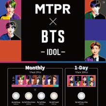 [MTPR X BTS] Color Lens + Random Photocard