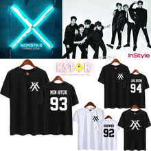 Monsta X Member + Logo Shirt