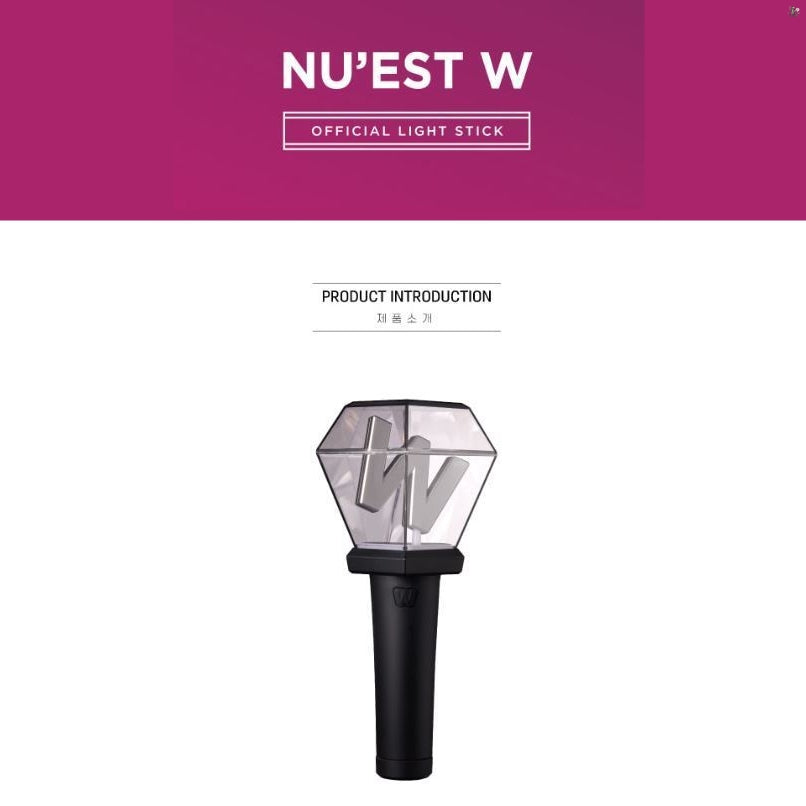NU'EST W Official Light Stick (Free Shipping)