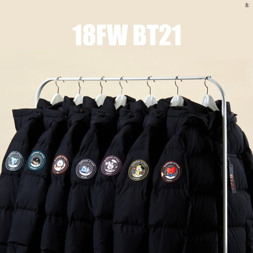 [LINE X BT21] Winter Padded Jacket Coat