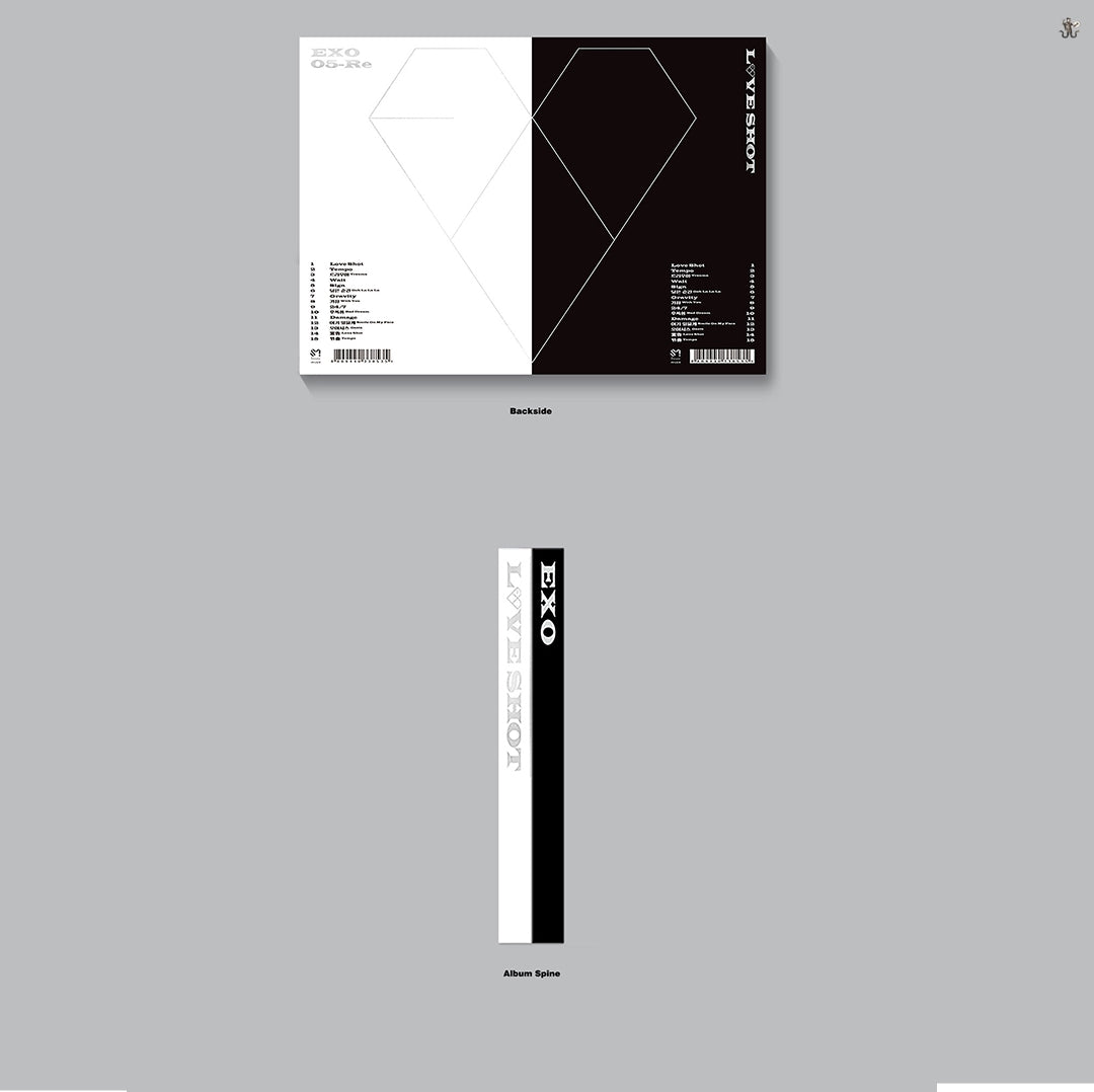 EXO -Love Shot Repackage Album (Choose Ver. + Free Shipping) – K-STAR 013c22c41a