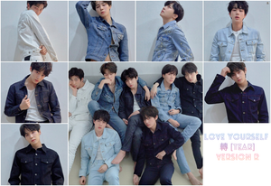 BTS - LOVE YOURSELF 轉  [Tear] (You can Choose Ver + Free Shipping)