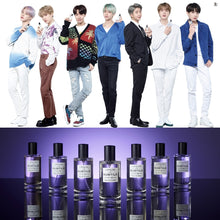 [VT COSMETICS X BTS] L'ATELIER des SUBTILS Perfume +15 BTS Postcards + Outbox + Acrylic Stand Member (Random) + Shipping by FedEx.