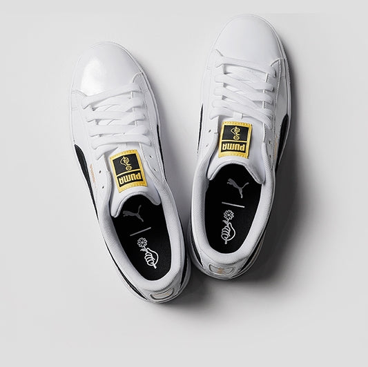 new style 4b2b1 03011 [LIMITED EDITION: PUMA X BTS] BTS Basket Patent Sneakers