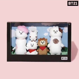 [LINE X BT21] RJ Family Doll SET (Limited Edition)