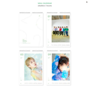 [BIG HIT] BTS 2020 WALL CALENDAR