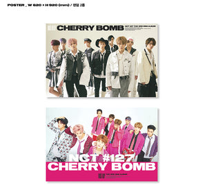 NCT 127 - Cherry Bomb + Folded Poster (Free Shipping)