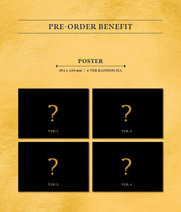 MONSTA X - FANTASIA X (You can Choose Ver. + Free Shipping)