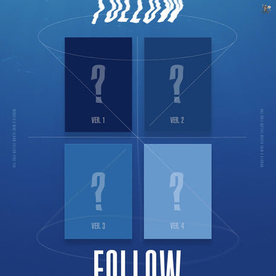 MONSTA X - Follow Find You (You can Choose Ver. + Free Shipping)