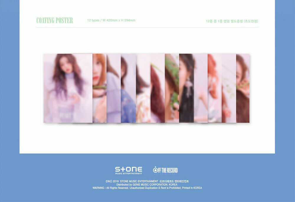 IZ*ONE IZONE - HEART*IZ (You Can Choose Ver + Free Shipping