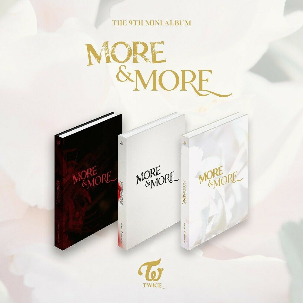 TWICE - More & More (You Can Choose Ver + Free Shipping)