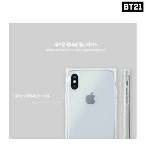 [LINE X BT21] Student Card Series Jelly Case for iPhone