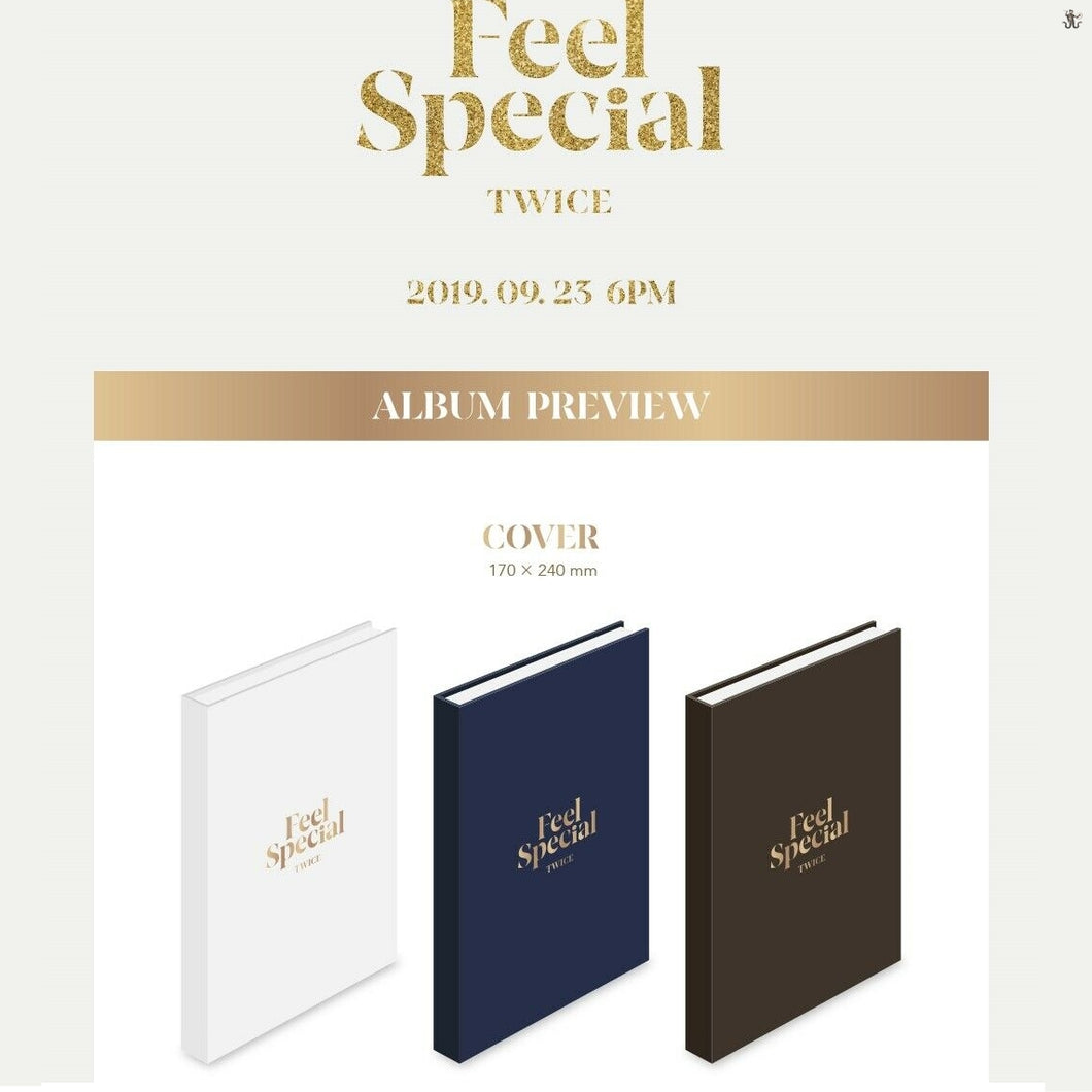 TWICE - Feel Special (You Can Choose Ver + Free Shipping)