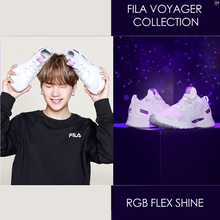 [FILA X BTS] Voyager Collection RGB Flex SHINE Sneakers