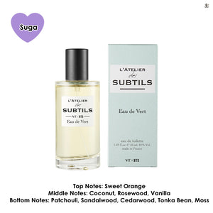 [VT COSMETICS X BTS] L'ATELIER des SUBTILS Perfume +15 BTS Postcards + Outbox + Acrylic Stand Member (Random) +Shipping by FedEx