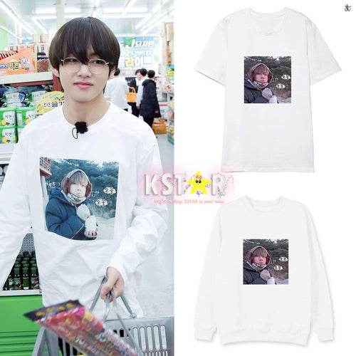 BTS Style Taehyung's face Shirt/Sweater/Hoodie