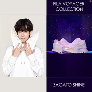 [FILA X BTS] Voyager Collection ZAGATO SHINE Sneakers