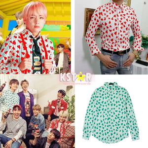 Taehyung's Style Idol Long Sleeved Shirt