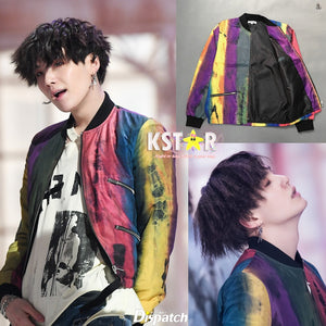 Suga's Style Fake Love Jacket
