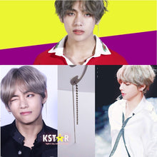 Taehyung's Style DNA Chain Earrings