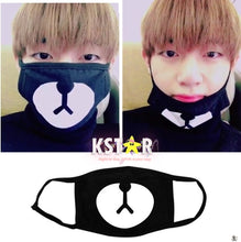 Taehyung's Style Bear Mouth Mask