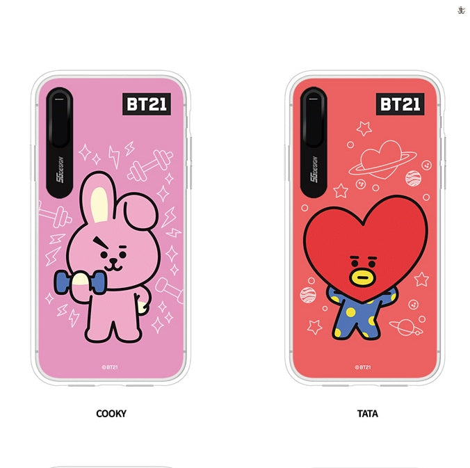 size 40 3497c b8bbb [LINE X BT21] Graphic Light Up Case (Hybrid) For iPhone (Free Shipping)