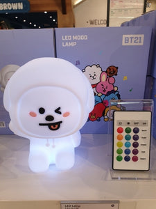 [LINE X BT21] Mood Light 15 Color Adjustment Lamp + Free Shipping by Fedex