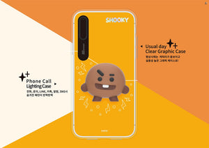 [LINE X BT21] Light Up Silicon Case For iPhone (Free Shipping)