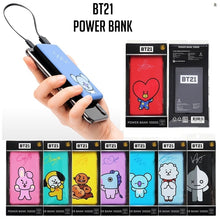[LINE X BT21] BT21 Power Bank (Free Shipping by Expedited Service)