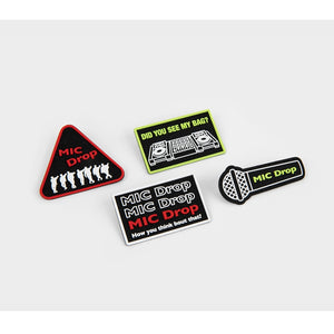 [BIG HIT] BTS OFFICIAL MIC Drop Wappen Pin Badge Set