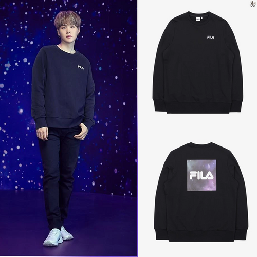 [FILA X BTS] Loose Fit Sweatshirt