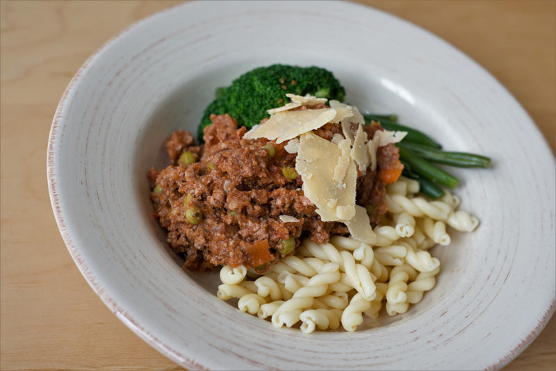 Veggie Boosted Beef Bolognaise